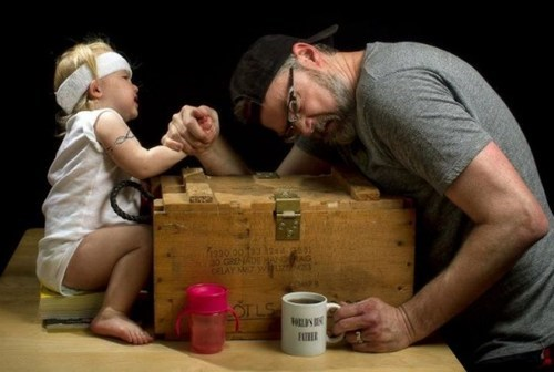 Badass Dad father-daughter kickstarter