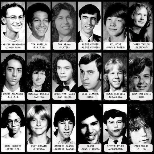 rock stars,yearbook,young celebs