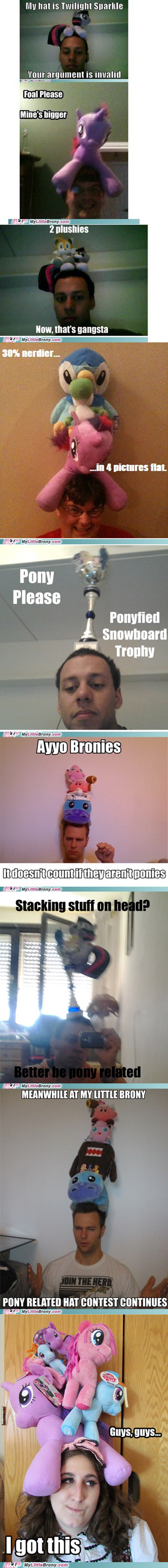 Bronies girls hat contest my little brony pegasisters - 6612894720