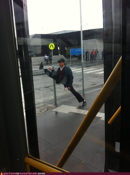 ministry of silly walks stretching - 6612902400