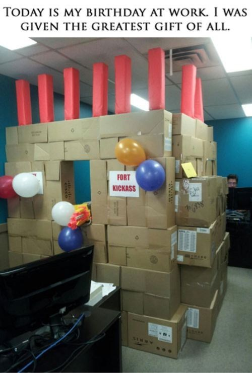 birthday gift fortress - 6612978176