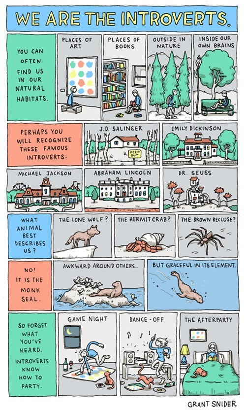 comics Incidental Comics introverts party by yourself - 6613003008