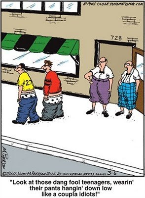 comic old people pants saggy pants - 6613091584