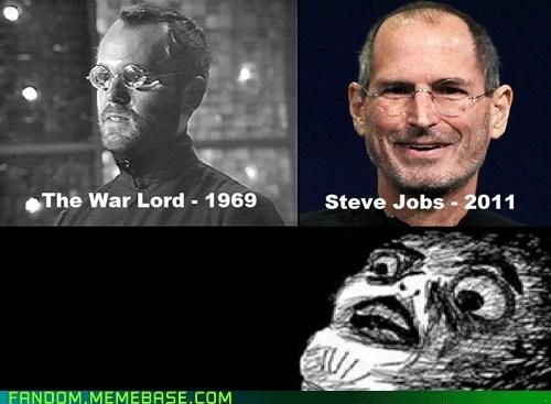 doctor who Memes raisin face steve jobs the war lord - 6613103360