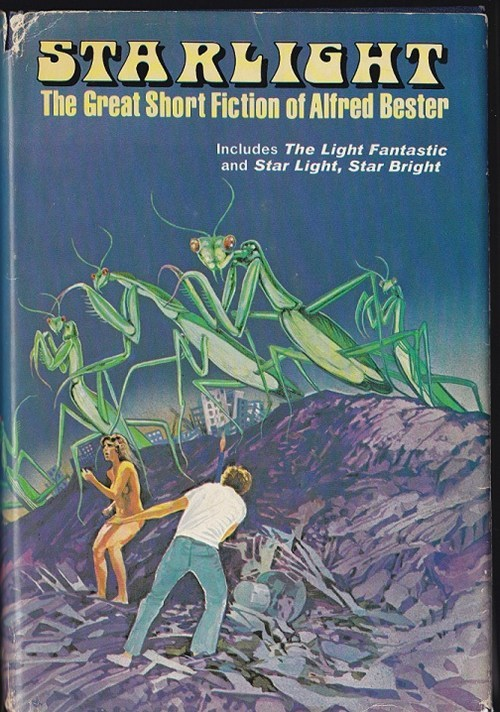 Awkward,book covers,books,cover art,covered,giant,praying mantis,science fiction,starlight,wtf