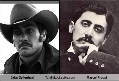 actor,celeb,funny,jake gyllenhaal,marcel proust,TLL