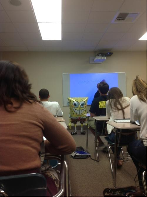 Balloons classroom horrifying SpongeBob SquarePants - 6613348608