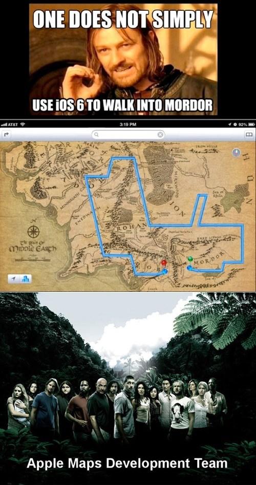apple Boromir Lord of the Rings lost sean bean - 6613602304