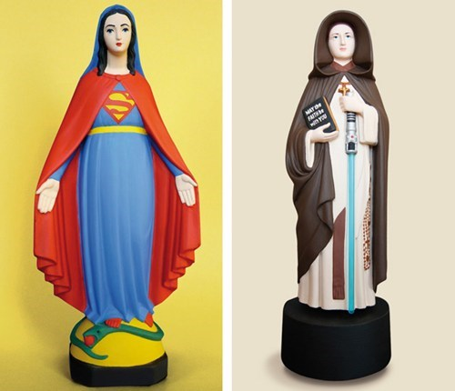 Madonna,mario,mary,star wars,superman,virgin mother