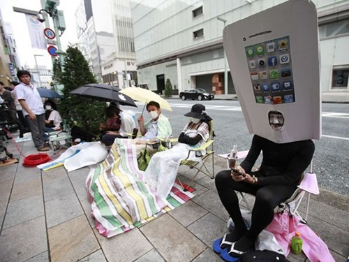 costume creepy iphone 5 Japan only in japan - 6613760512