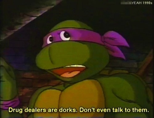 donatello dorks drug dealers ninja turtles - 6613795584