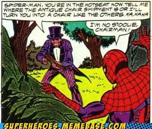 chair Spider-Man - 6613974784