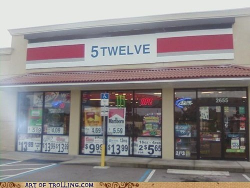 711,IRL,seems legit,sign,store