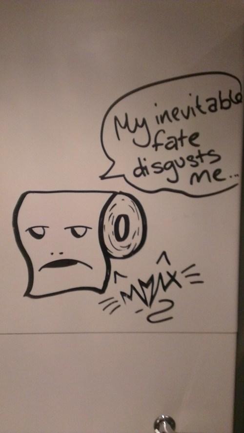 bathroom Bathroom Graffiti graffiti toilet paper - 6614247424