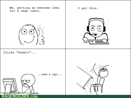 Rage Comics,table flip,typo