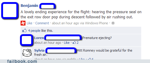 47 percent airplane cabin pressure flying Mitt Romney turbulence - 6614650624