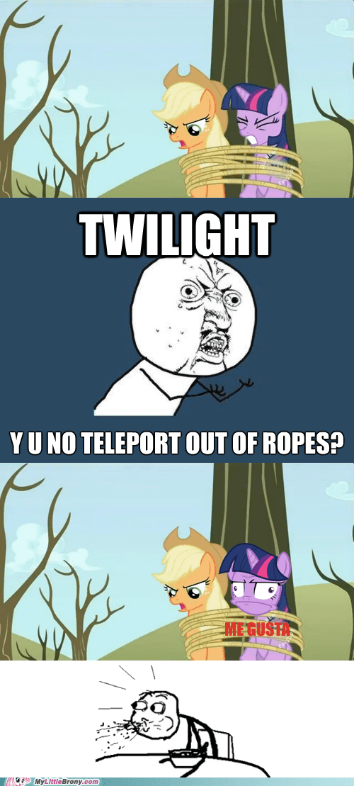 me gusta,tied up,twilight sparkle