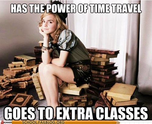 extra classes,good girl hermione,Harry Potter,hermione granger,time travel,time turner