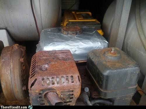 duct tape gas leak gas tank - 6615270656