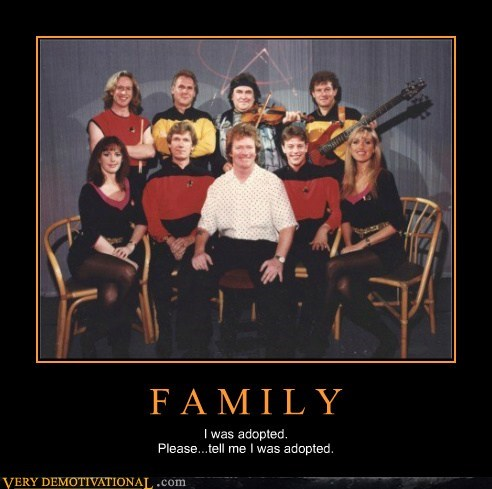 adopted family Star Trek