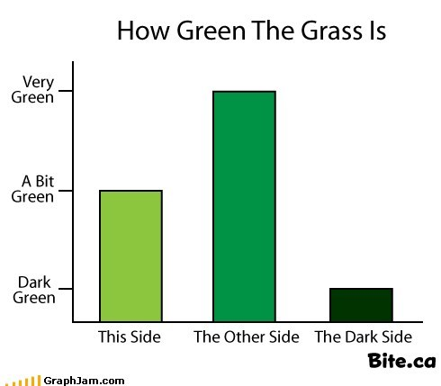 How Green the Grass Is
