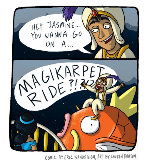 a whole new world aladdin comic magikarp - 6615710464