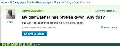 dishwasher kitchen jokes women yahoo answers - 6615726848