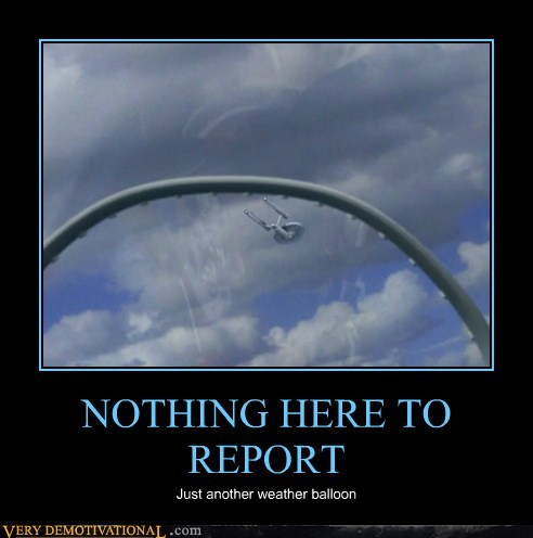 enterprise report Star Trek weather balloon - 6615807232
