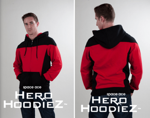 hoodie indiegogo Star Trek starfleet the next generation