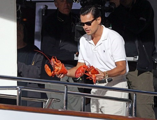 dual wielding,lobsters,dicaprio