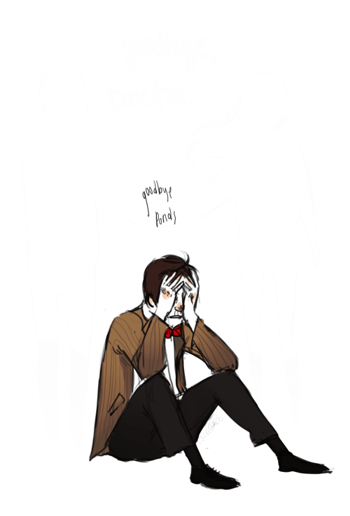 doctor who,Fan Art,goodbye ponds,series 7