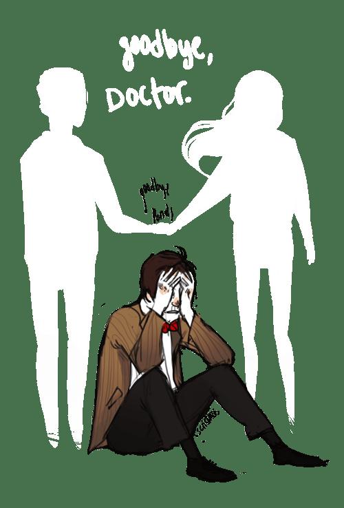 doctor who Fan Art goodbye ponds series 7 - 6616076544