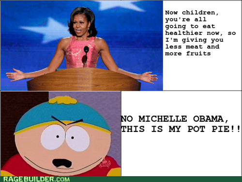 Michelle Obama obama politics South Park - 6616139264