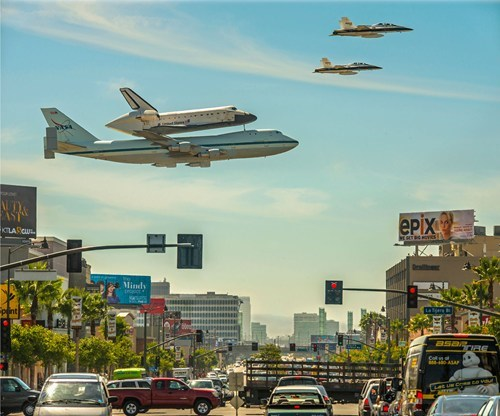 california,planes,space shuttle