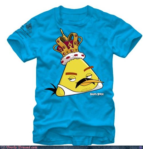 angry birds freddie mercury T.Shirt - 6616233984