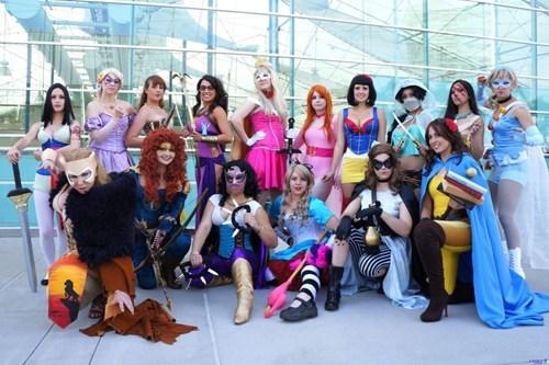 cosplay disney princesses superheroes - 6616345088