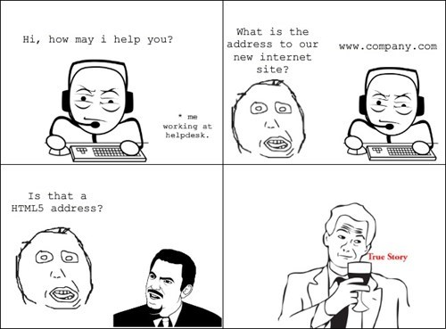 HTML5,rage comic,url,web address