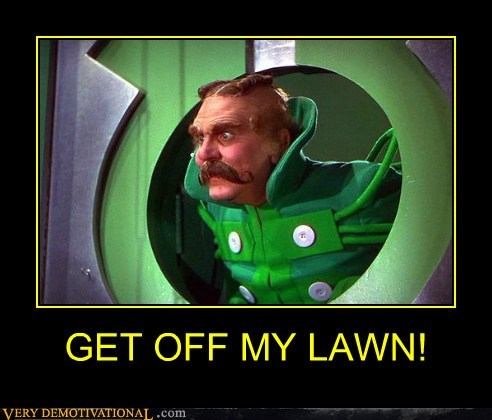 emerald city get off my lawn wizard of oz - 6616483328