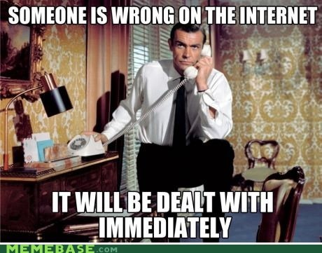 007 internet james bond something is wrong - 6616574720