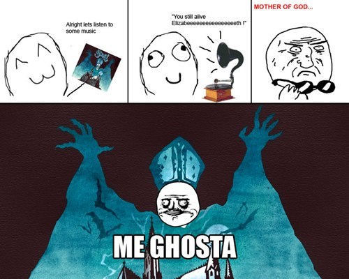 ghost,Rage Comics