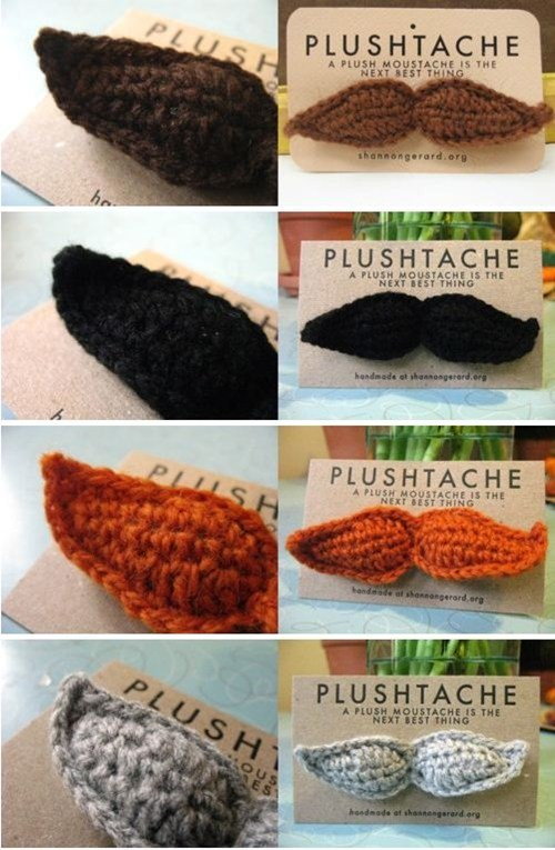 mustache Plush yarn fake cute - 6616795904