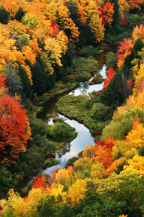 best of week,camping,fall,Hall of Fame,landscape,river,seasons