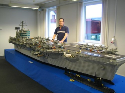 aircraft carrier,lego,model,navy,nerdgasm