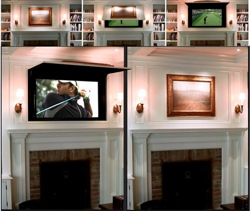 art paintings television tv coverups - 6617131776
