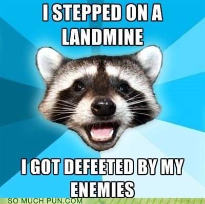 de defeated feeted homophone Lame Pun Coon landmine literalism prefix stepped - 6617172736