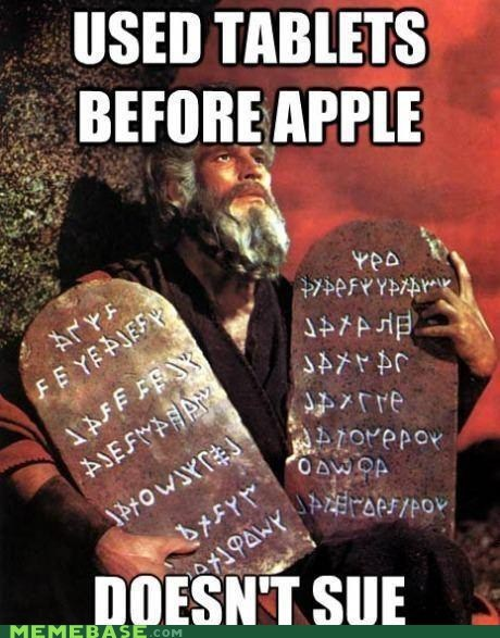 apple god moses sue tablets the bible - 6617390336