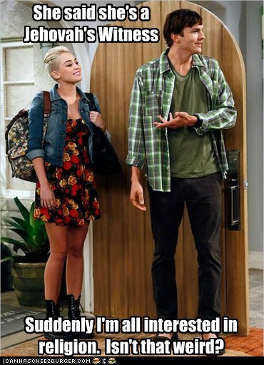 actor ashton kutcher celeb funny miley cyrus TV two and a half men - 6617445376