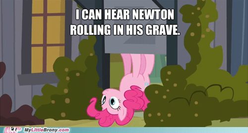 Gravity Newton pinkie pie - 6617457920