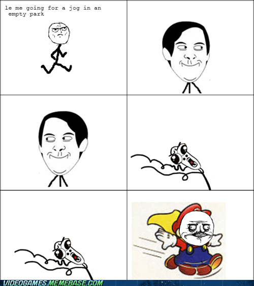 cape feather,jog,rage comic,video games