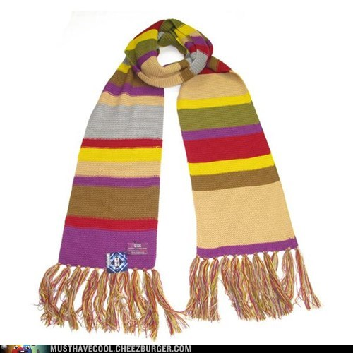 scarf doctor who fourth doctor - 6618093824